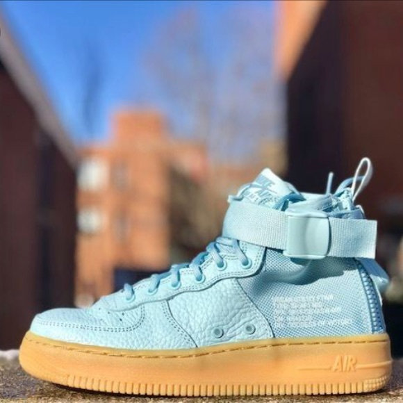 73e1cdbf680 Nike Sf Air Force 1 Ocean Bliss Mid
